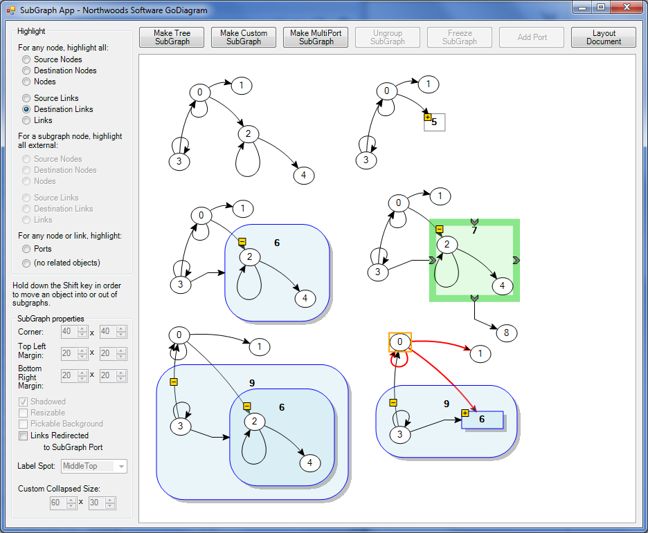 Godiagram winforms samples graphs with subgraphs sample ccuart Choice Image